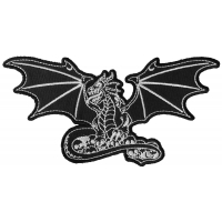 Dragon with Skulls Patch