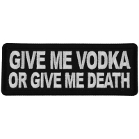 Give me Vodka or Give Me Death Patch