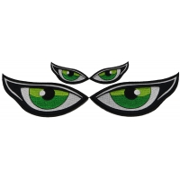 Green Eyes Patches Small and Medium Set