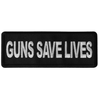 Guns Save Lives Patch