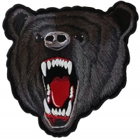 Large Black Bear Patch