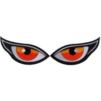 Medium Orange Eyes Patch