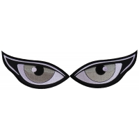 Medium Silver Eyes Patches