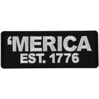 Merica Est 1776 Patch