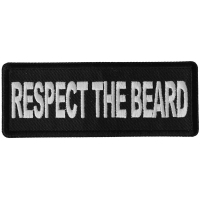 Respect The Beard Patch