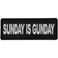 Sunday is Gunday Patch