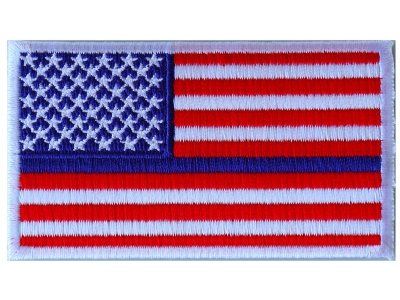 205e3dfb14e Subdued Green Stripe American Flag Patch