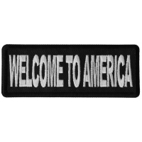 Welcome To America Patch