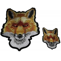 Cute Fox Patches - 2 pack Small and Large