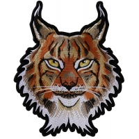 Lynx Cat Large Back Patch