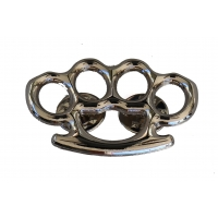 MMA Silver Knuckles Pin