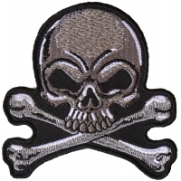 Gray Skull Patch