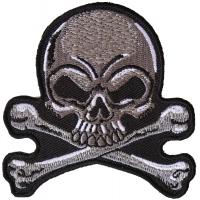 Gray Skull Patch