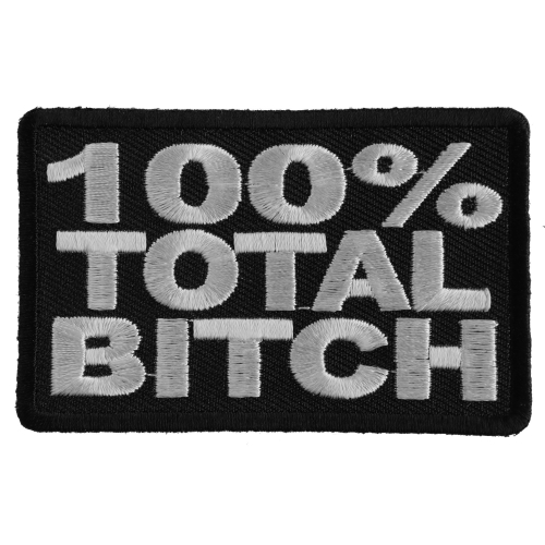 By Ivamis Trading Classy Bitch Patch 3.5x1.5 inch P3253 Free Shipping