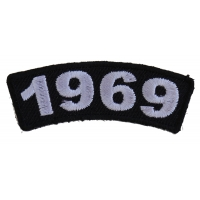 1969 Year Patch