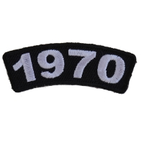 1970 Year Patch