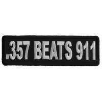 357 Beats 911 Patch | Embroidered Patches