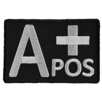 A POSITIVE Blood ID Patch