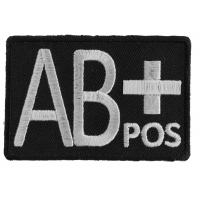 AB POSITIVE Blood ID Patch