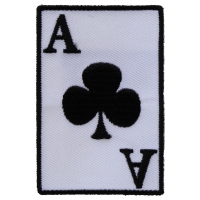Ace Of Clubs Patch