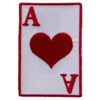 Ace Of Hearts Patch | Embroidered Patches