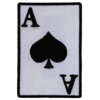 Ace Of Spades Patch | US Military Vietnam Veteran Patches