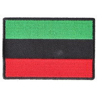 African Flag Patch | Embroidered Patches