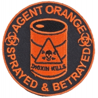 Agent Orange Sprayed And Betrayed Patch | US Military Vietnam Veteran Patches
