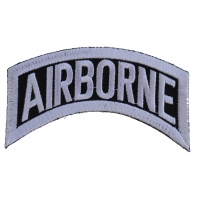 Airborne Small Rocker Patch | US Army Military Veteran Patches