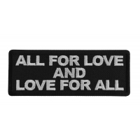 All for Love and Love for All Patch