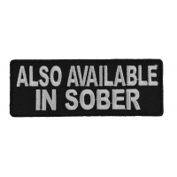 Also Available In Sober Patch