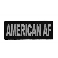 AMERICAN AF Patch, American As Fuck