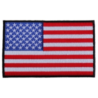 American Flag Patch with Black Borders