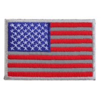 American Flag Reflective Patch | Embroidered Patches