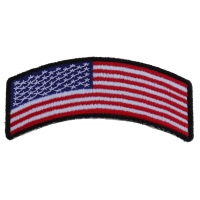 American Flag Rocker Patch | US Military Veteran Patches