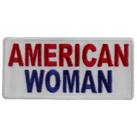American Woman Patch | Embroidered Patches