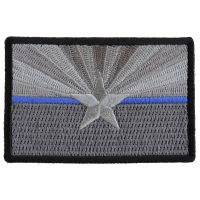 Arizona State Flag Blue Line Police Patch