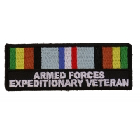 Armed Forces Expeditionary Patch | US Military Veteran Patches