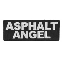 Asphalt Angel Patch | Embroidered Patches