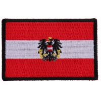 Austrian Flag Patch
