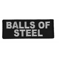 Balls Of Steel Patch