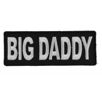 Big Daddy Biker Patch | Embroidered Patches