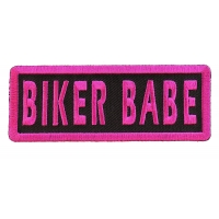 Biker Babe Patch | Embroidered Patches