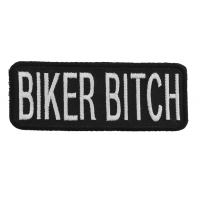 Biker Bitch Patch | Embroidered Patches
