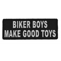 Biker Boys Make Good Toys Patch | Embroidered Patches