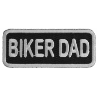 Biker Dad Patch | Embroidered Patches
