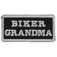 Biker Grandma Patch | Embroidered Patches