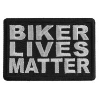 Biker Lives Matter Patch