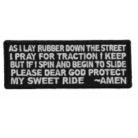 Biker Prayer Patch