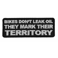 Bikes Mark Their Territory Patch | Embroidered Patches